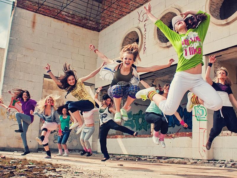 Пазл Собирать пазлы онлайн - Уличные танцы