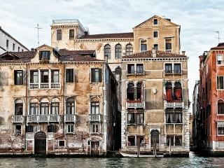 Собирать пазл Улица в Венеции онлайн