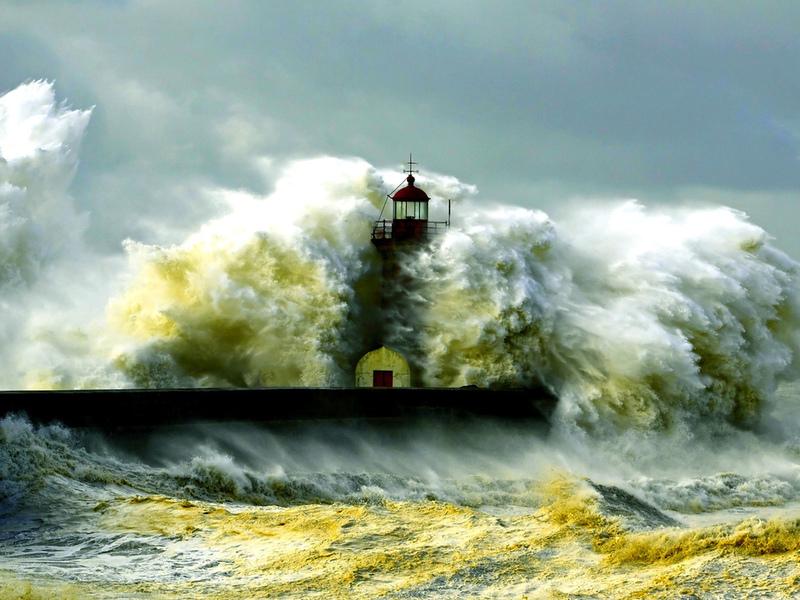 Пазл Собирать пазлы онлайн - Ураган