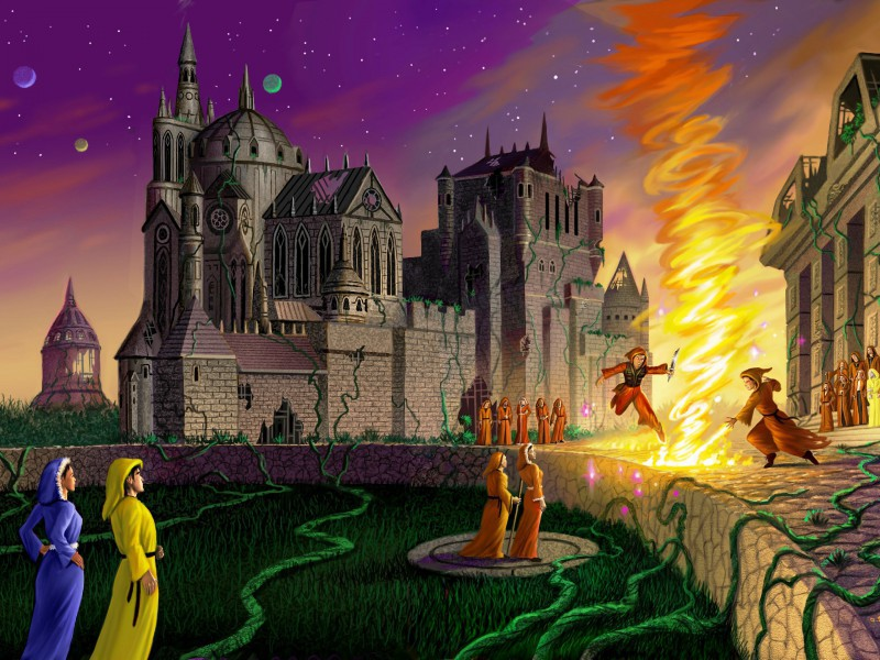Пазл Собирать пазлы онлайн - Урок огня