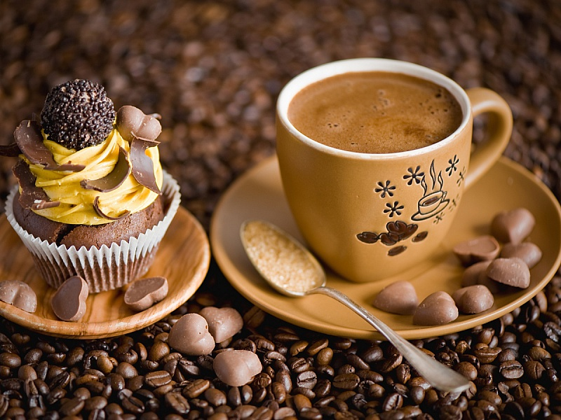 Пазл Собирать пазлы онлайн - Утренний кофе