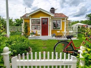 Собирать пазл Уютный домик онлайн