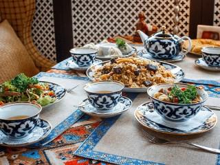 Собирать пазл Узбекская чайхана онлайн