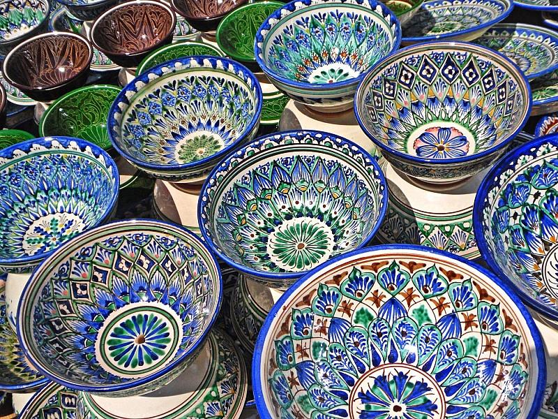 Пазл Собирать пазлы онлайн - Узбекская керамика