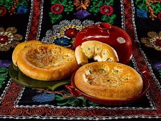 Собирать пазл Узбекские лепешки онлайн