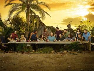 Собирать пазл Ужин на острове онлайн