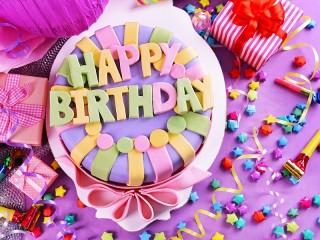 Собирать пазл В день рождения онлайн