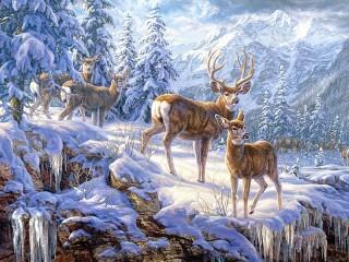 Собирать пазл В горном лесу онлайн