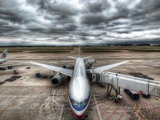 Собирать пазл В ожидании полета онлайн