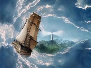 Собирать пазл В плену облаков онлайн