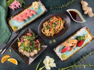 Собирать пазл В японском ресторане онлайн