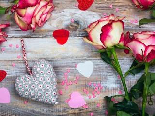 Собирать пазл Валентинки онлайн