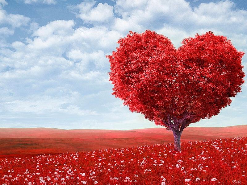 Пазл Собирать пазлы онлайн - Валентинов день