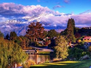 Собирать пазл Ванака онлайн