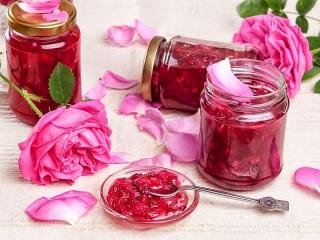 Собирать пазл Варенье из роз онлайн
