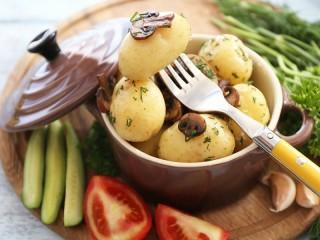 Собирать пазл Варёная картошка  онлайн