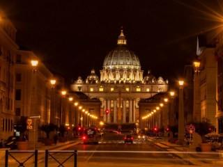 Собирать пазл Ватикан пл.  Святого  Петра онлайн