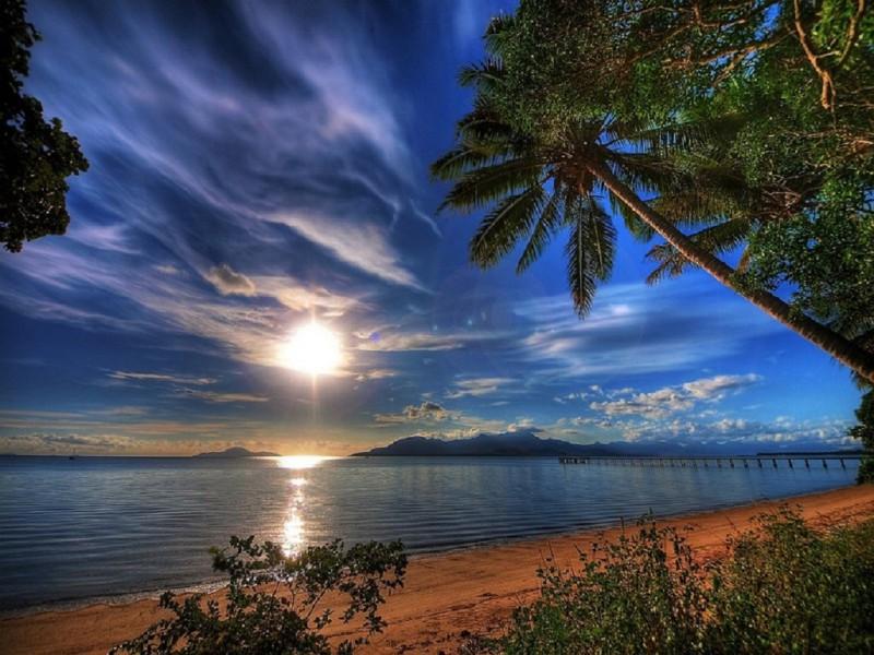 Пазл Собирать пазлы онлайн - Вечеpний пляж