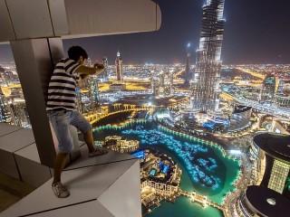 Собирать пазл Вечерний Дубай онлайн