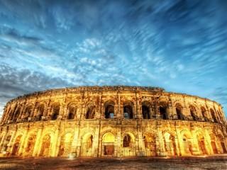 Собирать пазл Вечерний Колизей онлайн