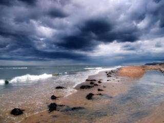 Собирать пазл Вечерний пляж онлайн