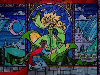 Собирать пазл Ведьма и принц онлайн