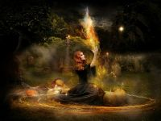 Собирать пазл Ведьмин ритуал онлайн