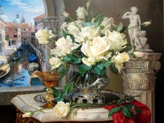 Собирать пазл Венецианский натюрморт онлайн