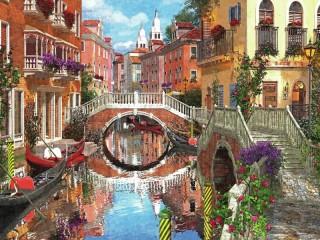 Собирать пазл Венеция 1 онлайн
