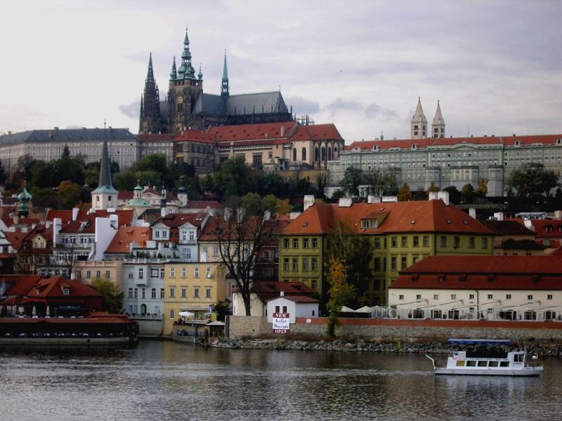 Пазл Собирать пазлы онлайн - Прага
