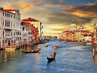 Собирать пазл Венеция онлайн