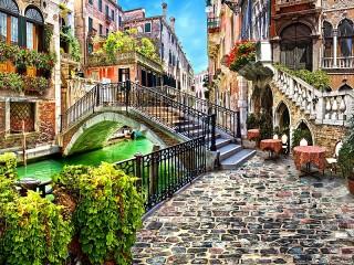 Собирать пазл Венеция Италия онлайн