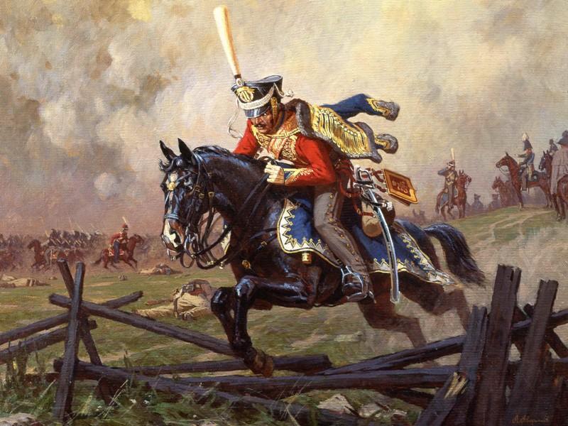 Пазл Собирать пазлы онлайн - Верхом на коне