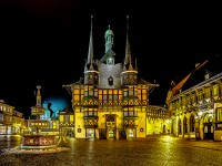Собирать пазл Вернигероде Германия онлайн