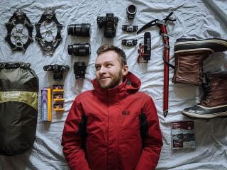 Собирать пазл Вещи альпиниста онлайн