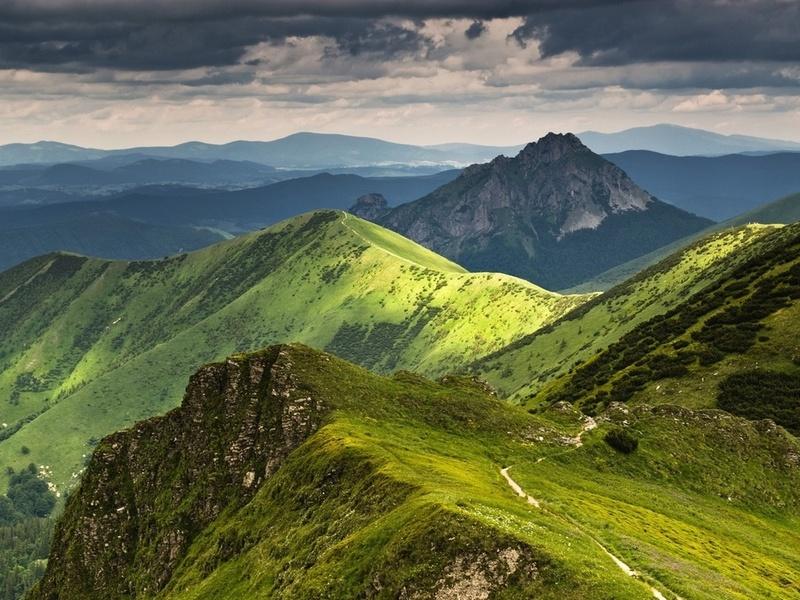 Пазл Собирать пазлы онлайн - Горы в Словакии