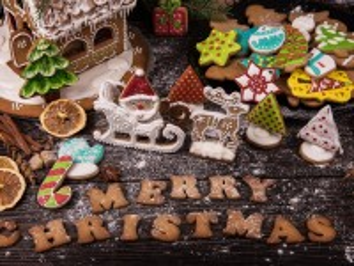 Собирать пазл Весёлого Рождества онлайн
