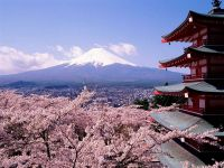 Собирать пазл Вид на Фудзияму онлайн