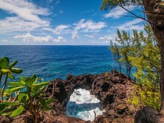 Собирать пазл Вид на море онлайн