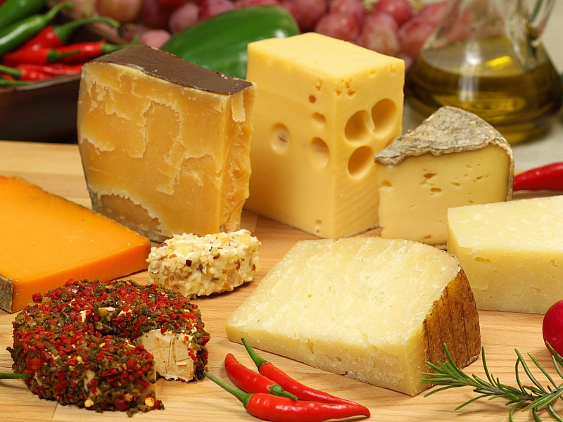 Пазл Собирать пазлы онлайн - Виды сыров