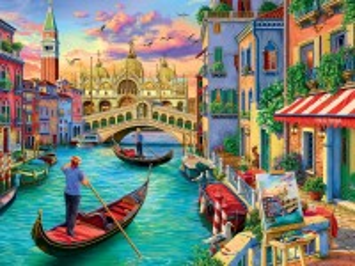 Собирать пазл Виды Венеции онлайн