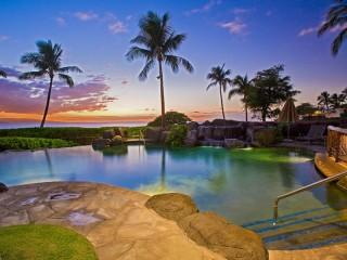 Собирать пазл Вилла на Гавайях онлайн