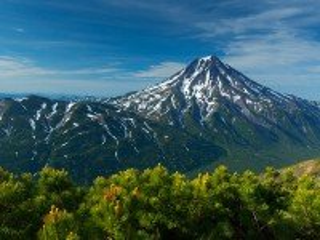 Собирать пазл Вилючинский вулкан онлайн
