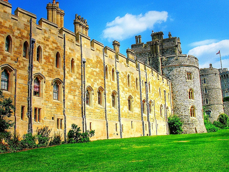 Пазл Собирать пазлы онлайн - Виндзорский замок