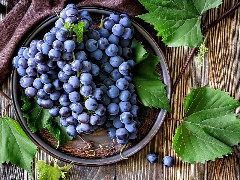 Пазл Собирать пазлы онлайн - Виноград