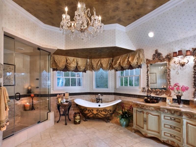 Пазл Собирать пазлы онлайн - Винтажная ванная