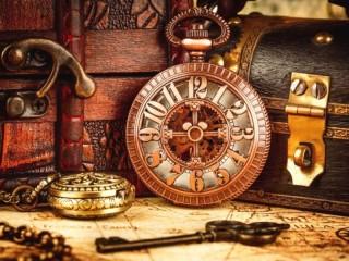 Собирать пазл Винтажные часы онлайн
