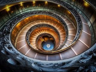 Собирать пазл Винтовая лестница онлайн