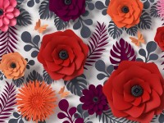 Собирать пазл Виртуальные цветы онлайн