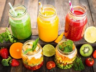 Собирать пазл Витаминные напитки онлайн